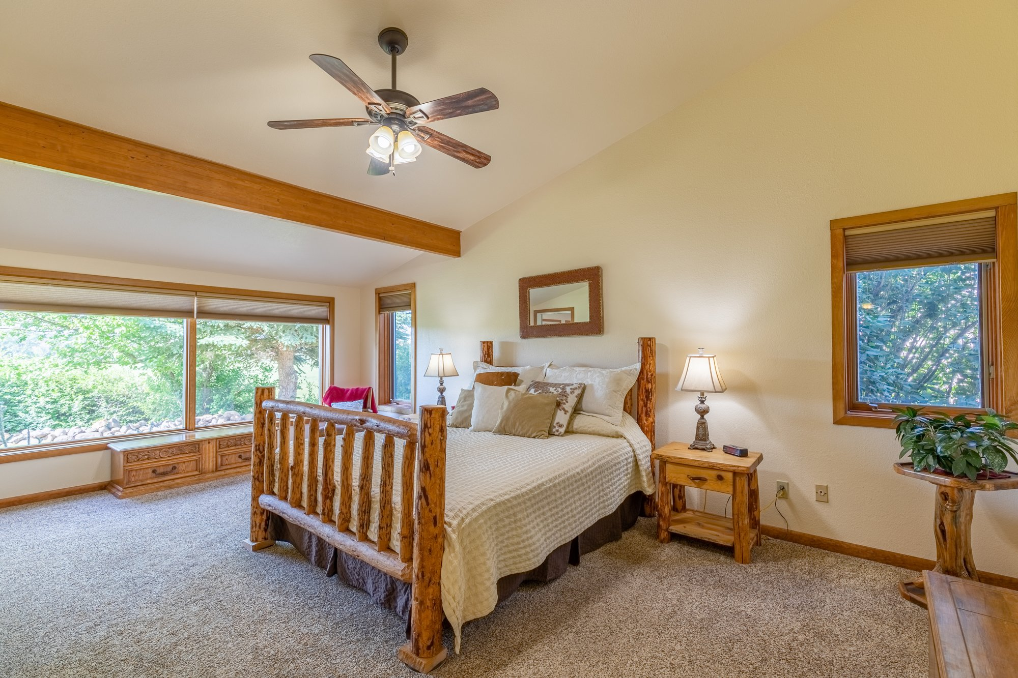 Master Bedroom with Carpet - 17777 6650 Rd Montrose, CO 81403 - Atha Team Country Real Estate
