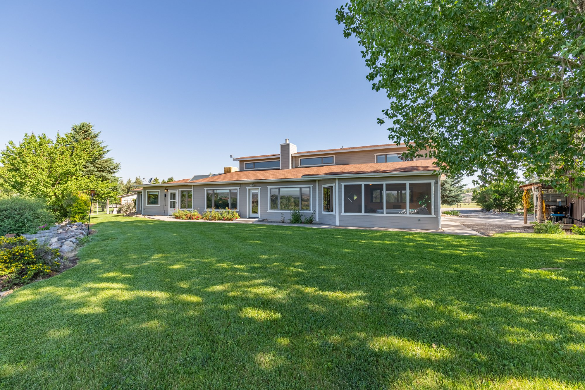 Rear of Home and Yard - 17777 6650 Rd Montrose, CO 81403 - Atha Team Country Real Estate