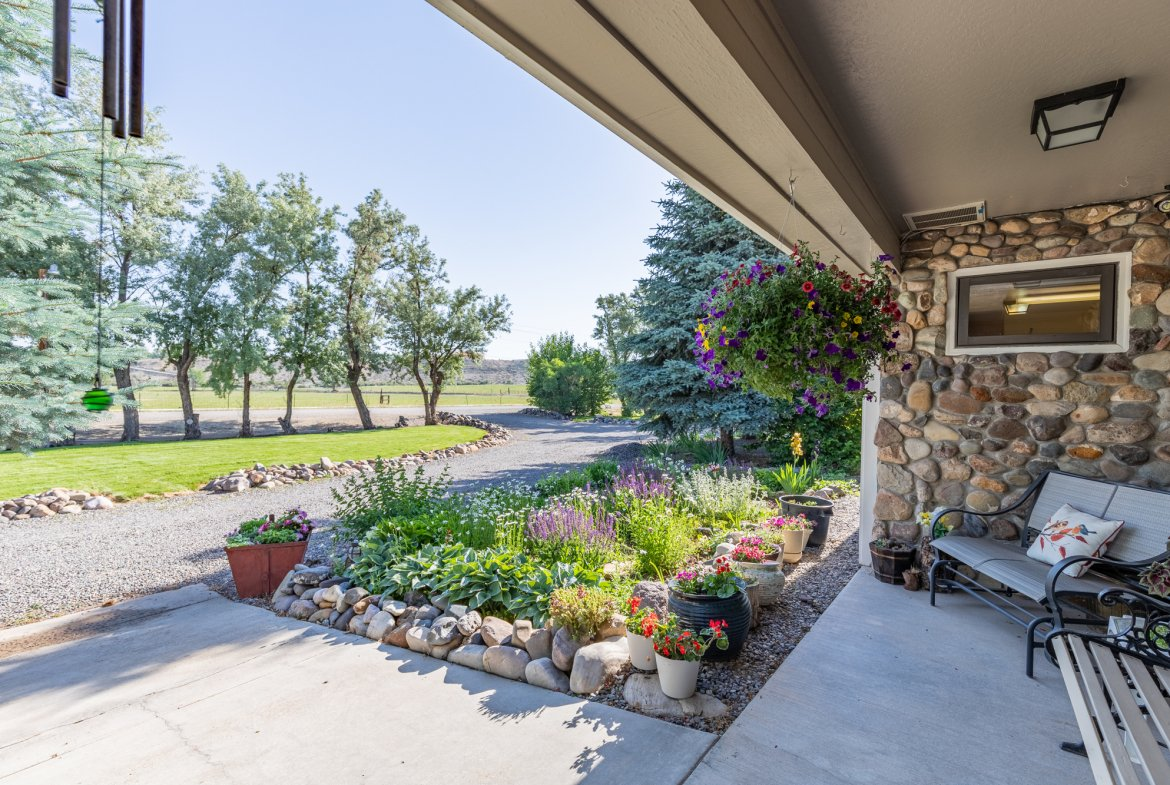 Porch View - 17777 6650 Rd Montrose, CO 81403 - Atha Team Country Real Estate