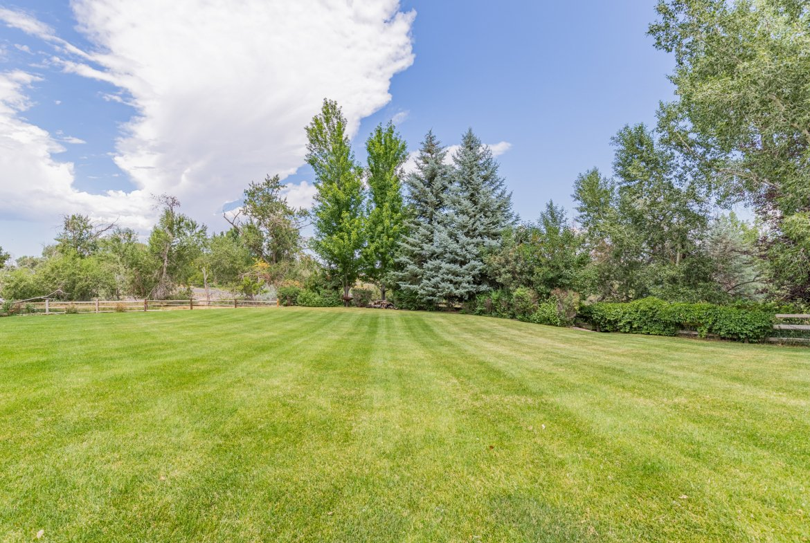 Spacious back yard on large lot - 2049 Brook Way Montrose, Co 81403 - Atha Team Luxury Real Estate