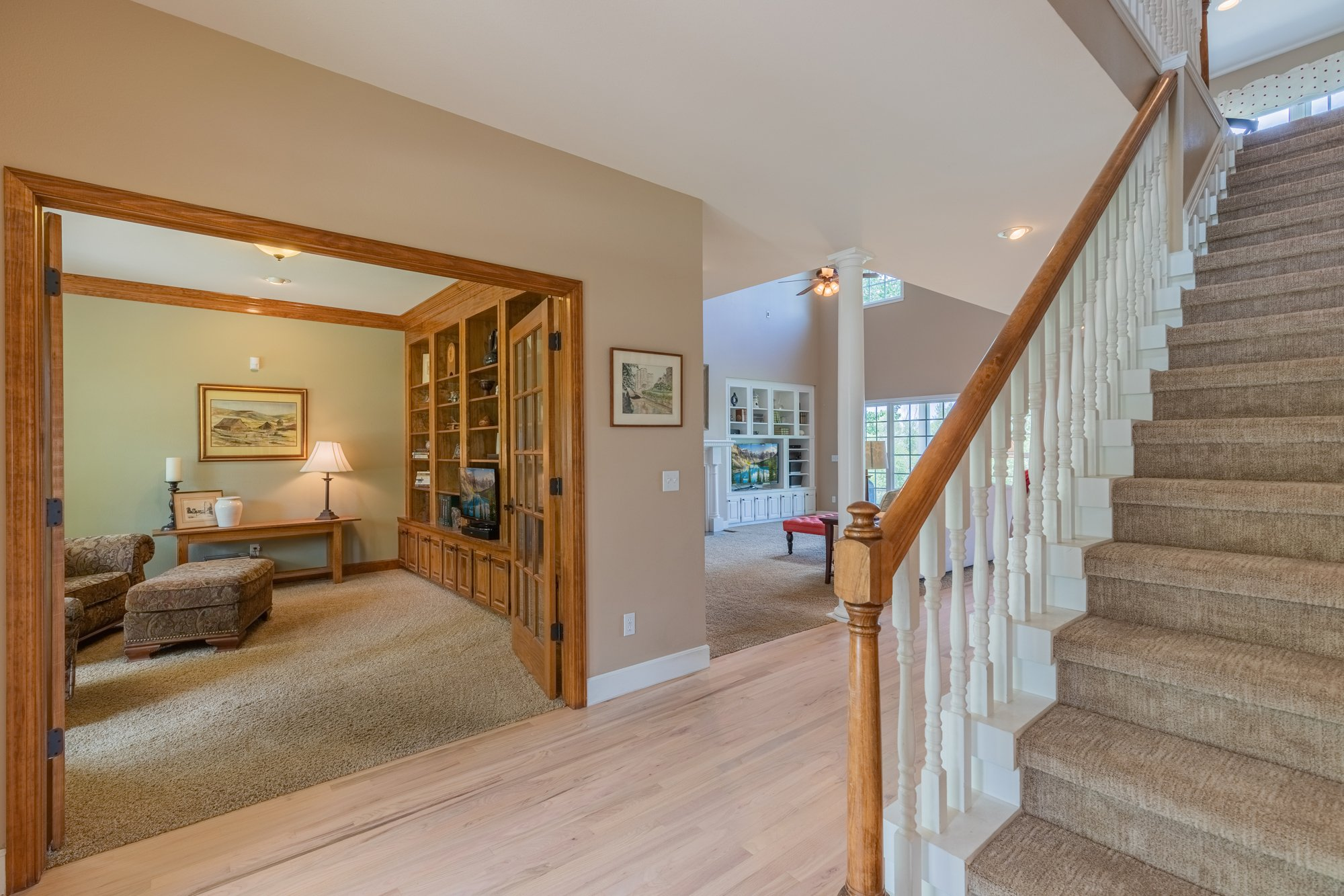 Entry way with Office access - 2049 Brook Way Montrose, Co 81403 - Atha Team Luxury Real Estate