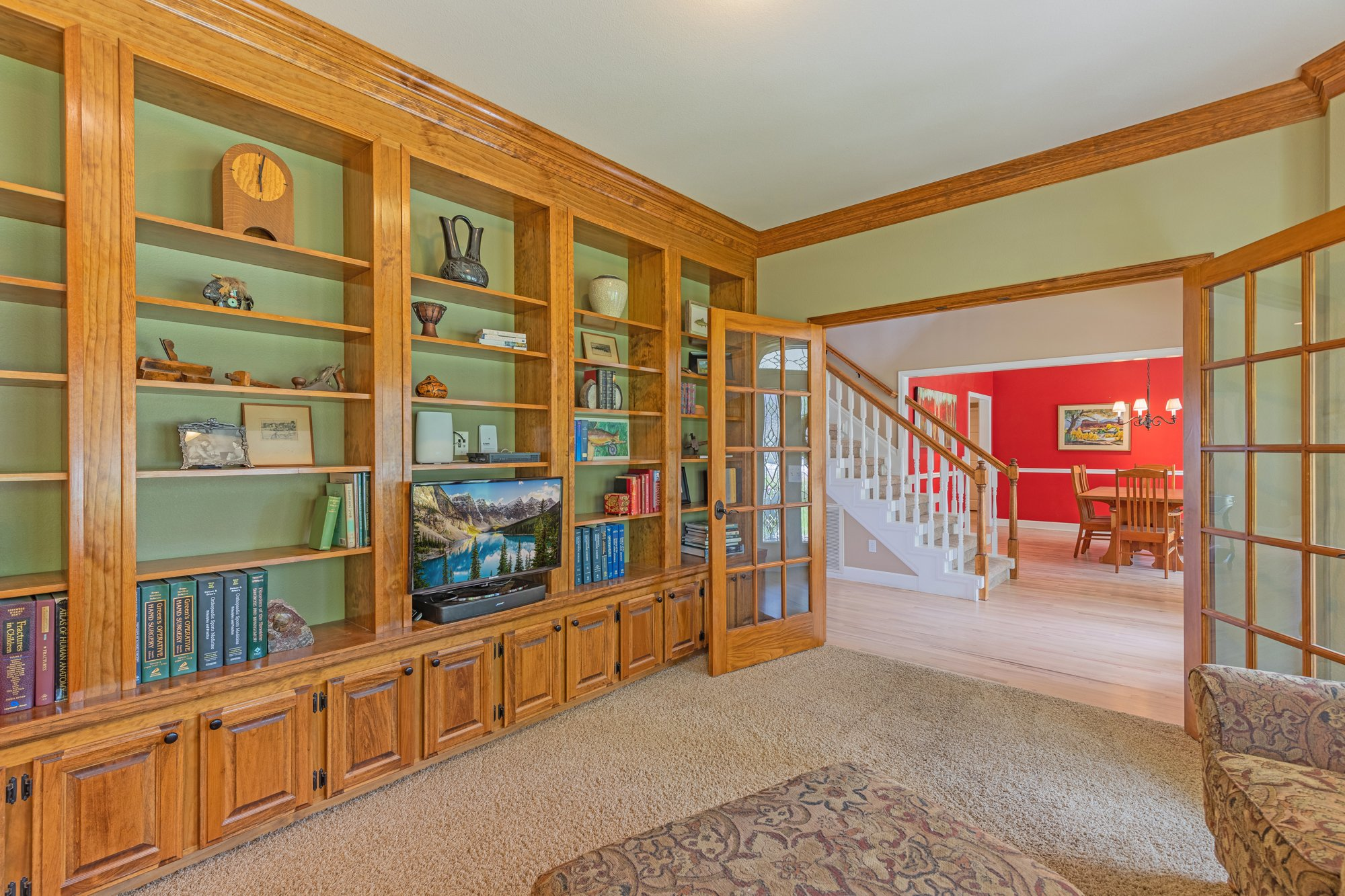 Downstairs Office - 2049 Brook Way Montrose, Co 81403 - Atha Team Luxury Real Estate