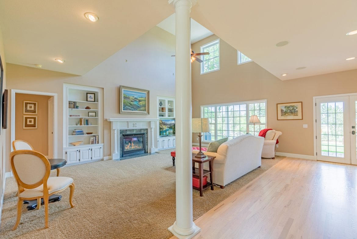 Living Room with High Ceilings - 2049 Brook Way Montrose, Co 81403 - Atha Team Luxury Real Estate