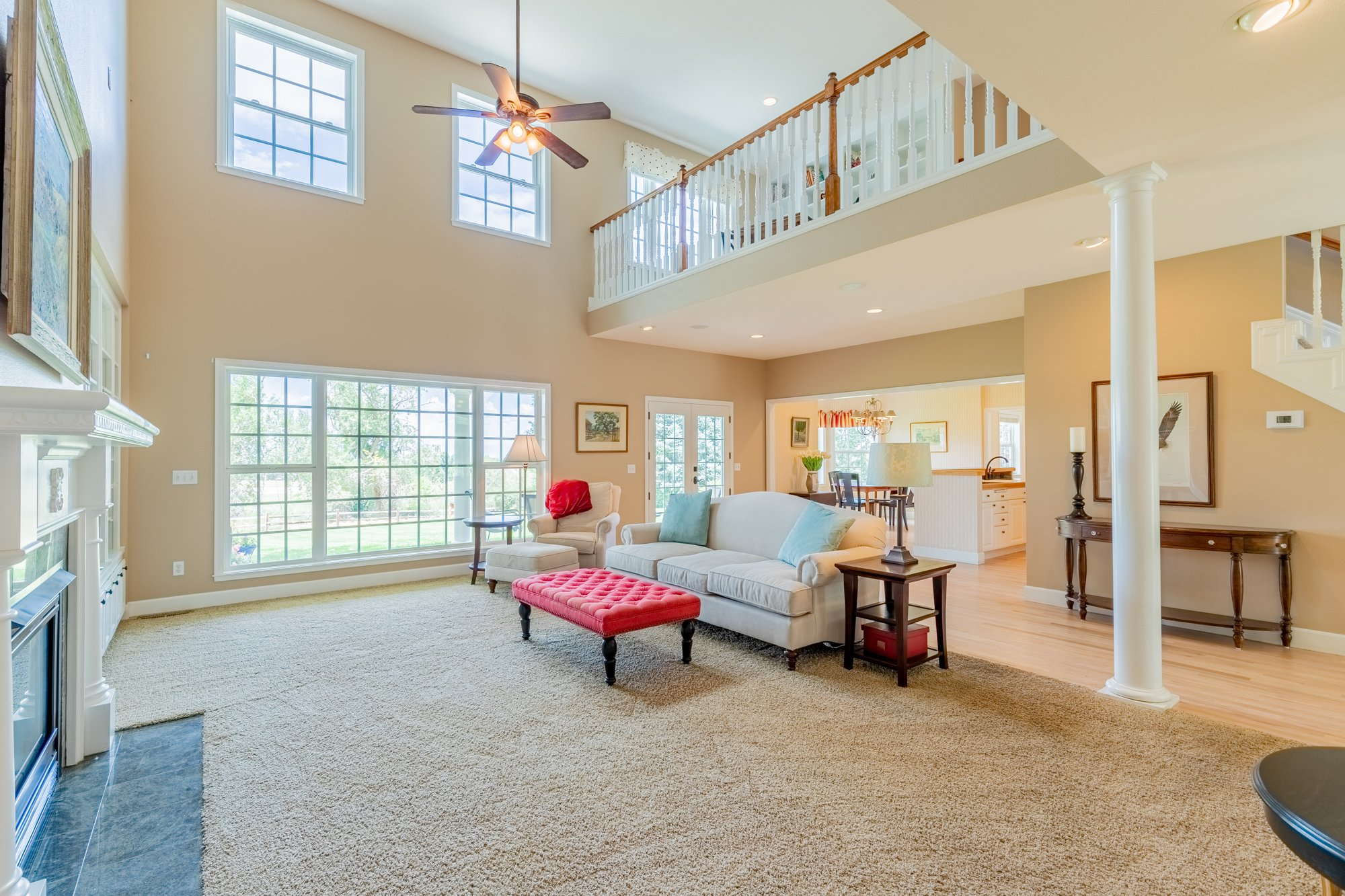 Living Room with Carpet - 2049 Brook Way Montrose, Co 81403 - Atha Team Luxury Real Estate