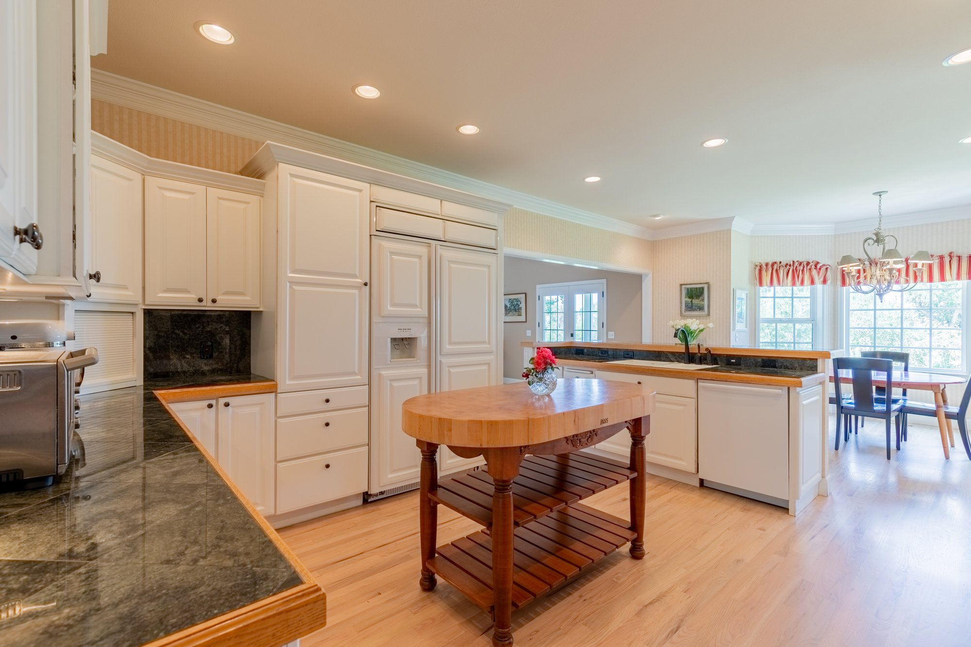 Kitchen with Prep Island - 2049 Brook Way Montrose, Co 81403 - Atha Team Luxury Real Estate