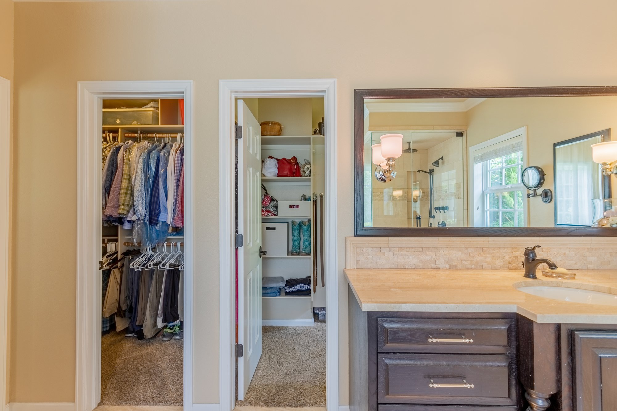 Master Bathroom with Closet - 2049 Brook Way Montrose, Co 81403 - Atha Team Luxury Real Estate