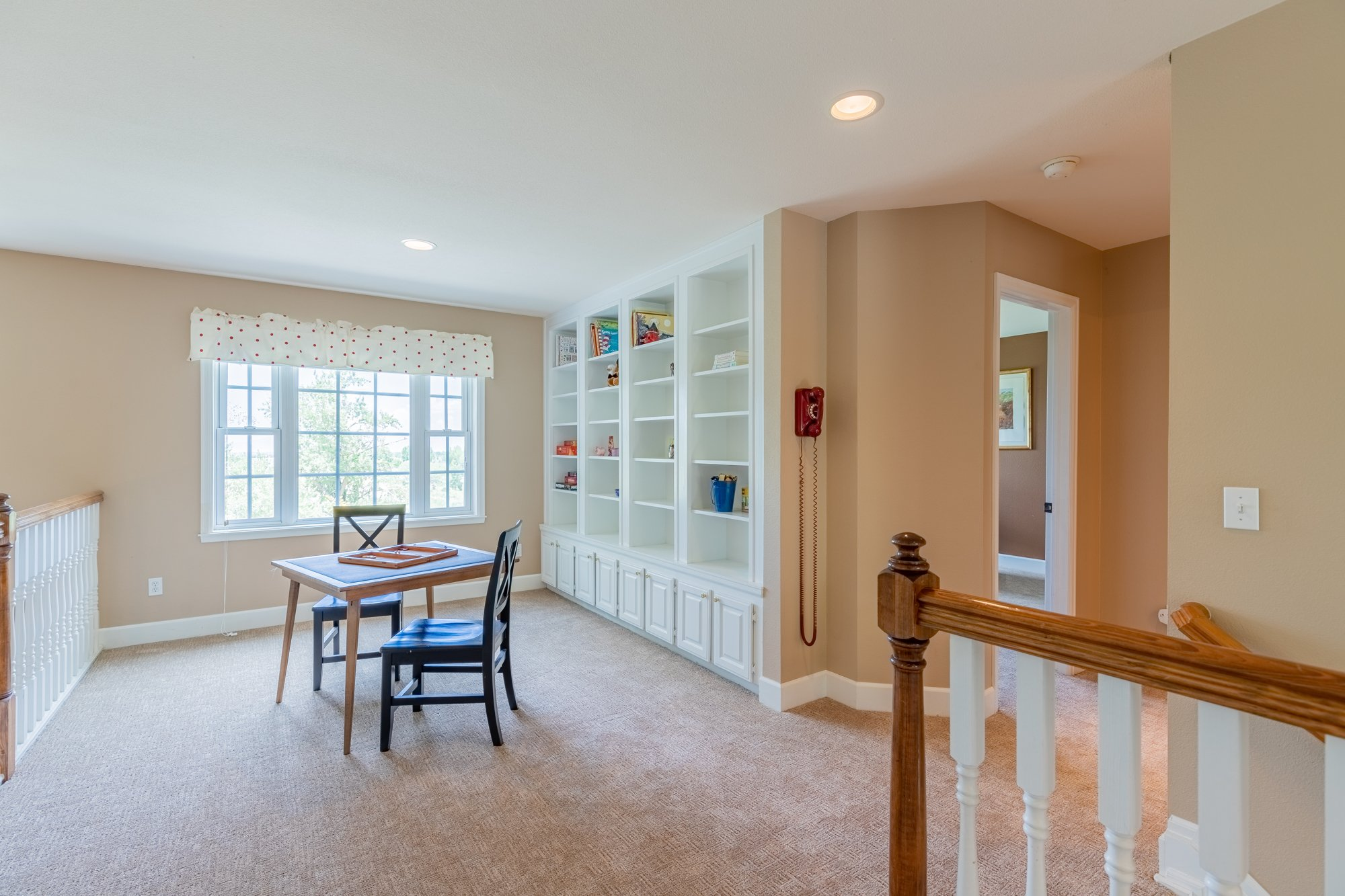 Upstairs Open Area with Built Ins - 2049 Brook Way Montrose, Co 81403 - Atha Team Luxury Real Estate