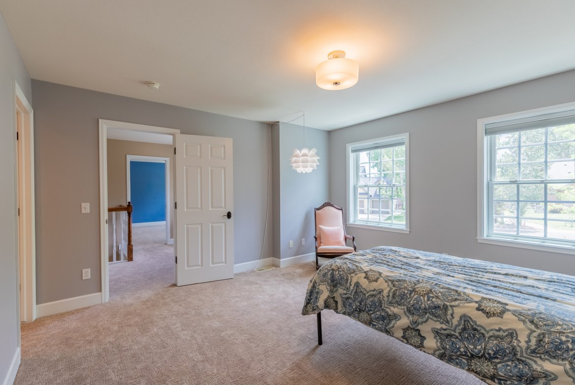 Bedroom with carpet - 2049 Brook Way Montrose, Co 81403 - Atha Team Luxury Real Estate