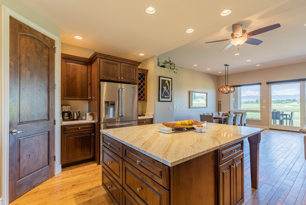 Kitchen with Pantry - 2927 Sleeping Bear Rd Montrose, CO 81401 - Atha Team Real Estate