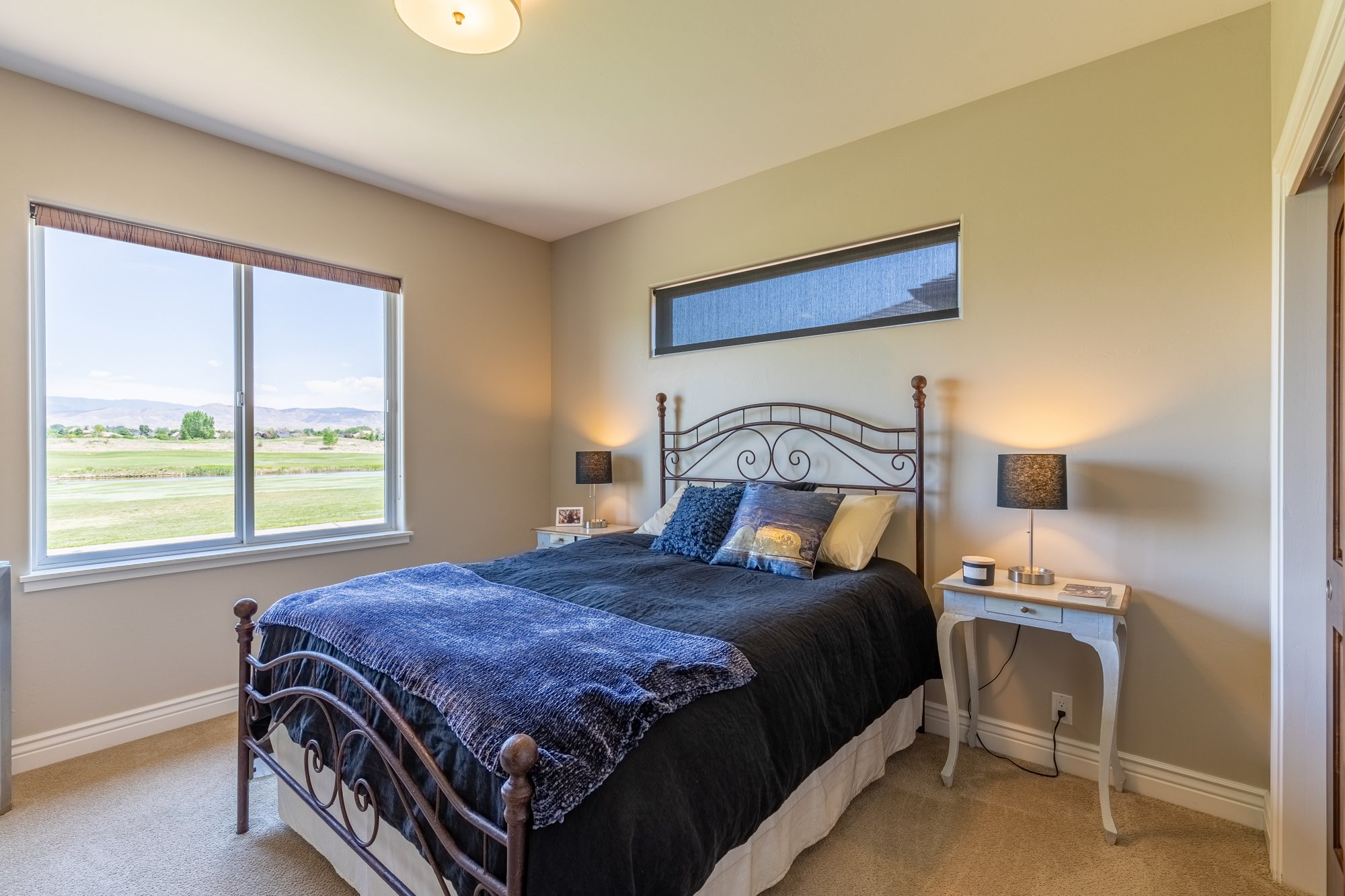 Bedroom with High Window - 2927 Sleeping Bear Rd Montrose, CO 81401 - Atha Team Real Estate