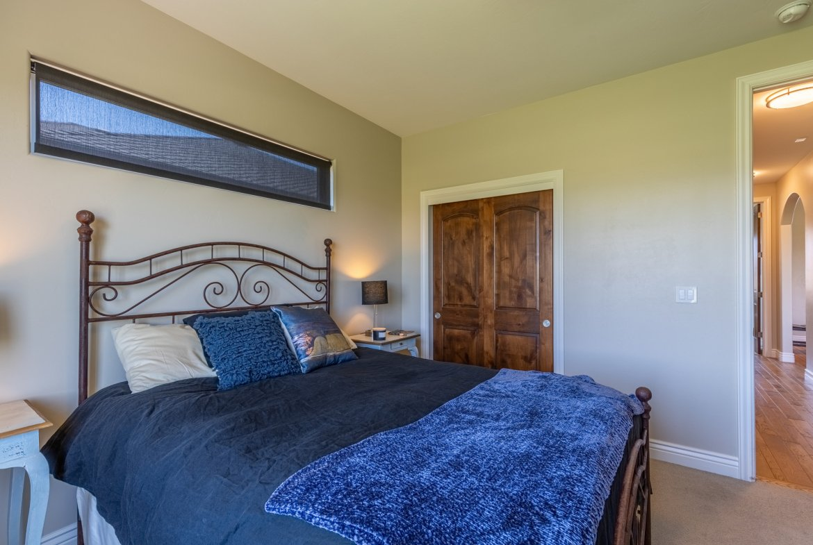 Bedroom with Closet - 2927 Sleeping Bear Rd Montrose, CO 81401 - Atha Team Real Estate