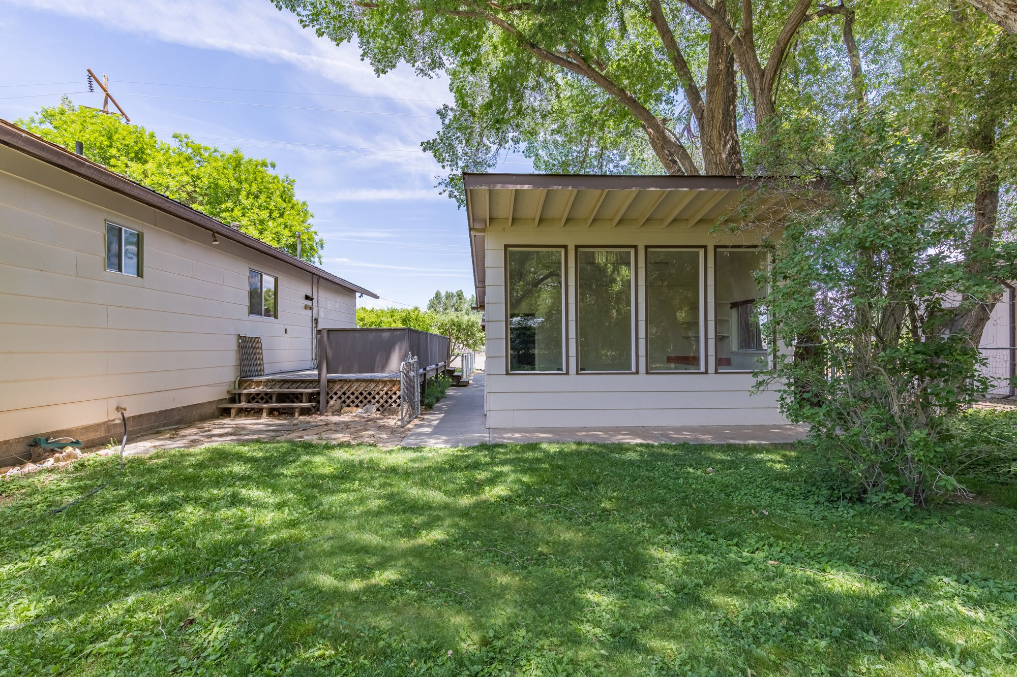 Back Yard with Shed - 418 6400 Rd Montrose, CO 81403 - Atha Team Realty