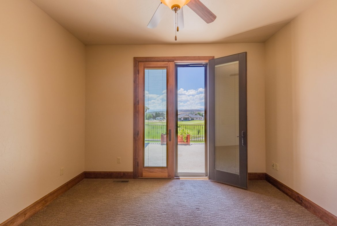 Upstairs Room with Balcony - 924 Courthouse Peak Lane Montrose, CO 81403 - Atha Team Golf Luxury Real Estate