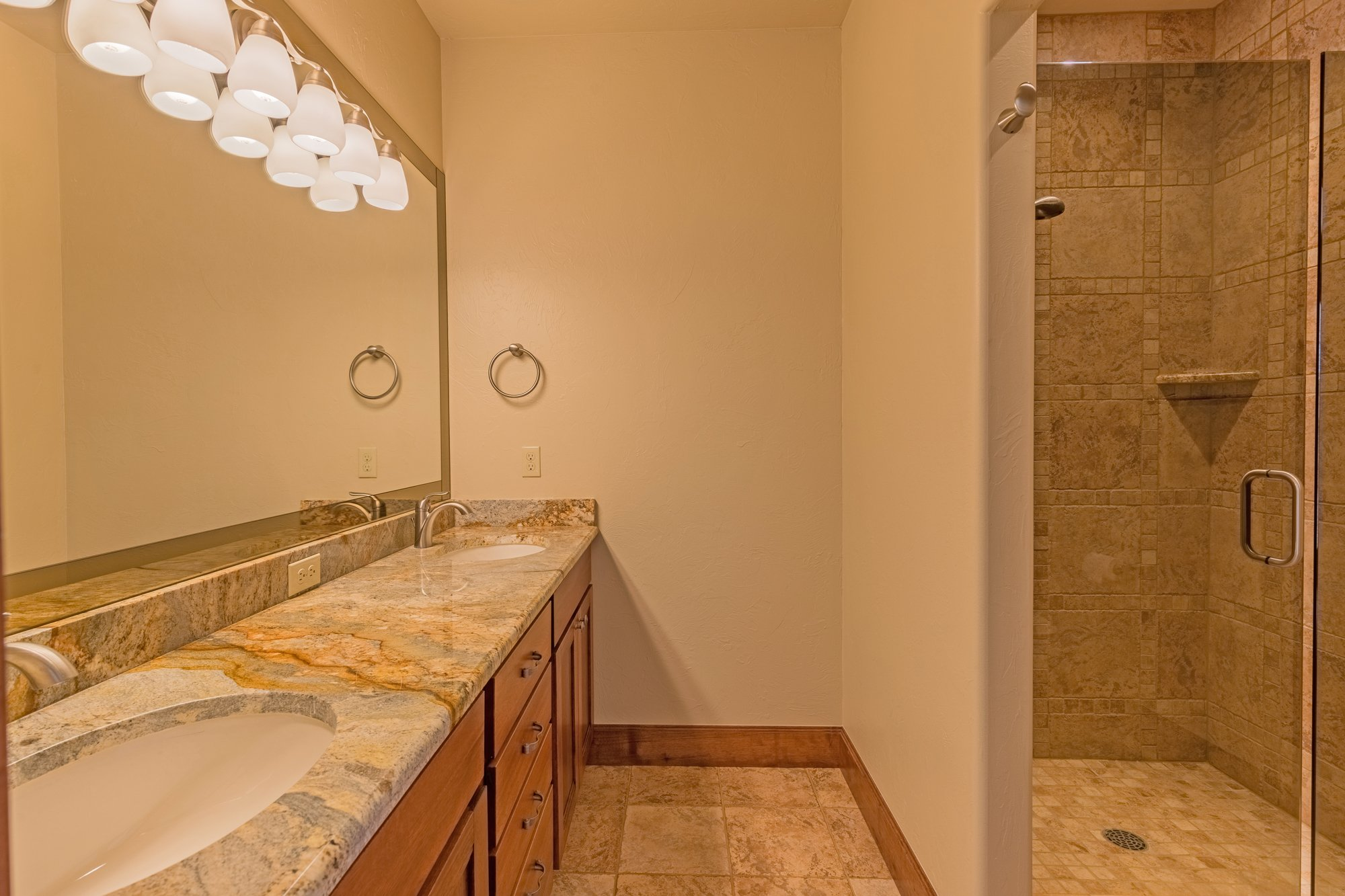 Bathroom with Shower - 924 Courthouse Peak Lane Montrose, CO 81403 - Atha Team Golf Luxury Real Estate