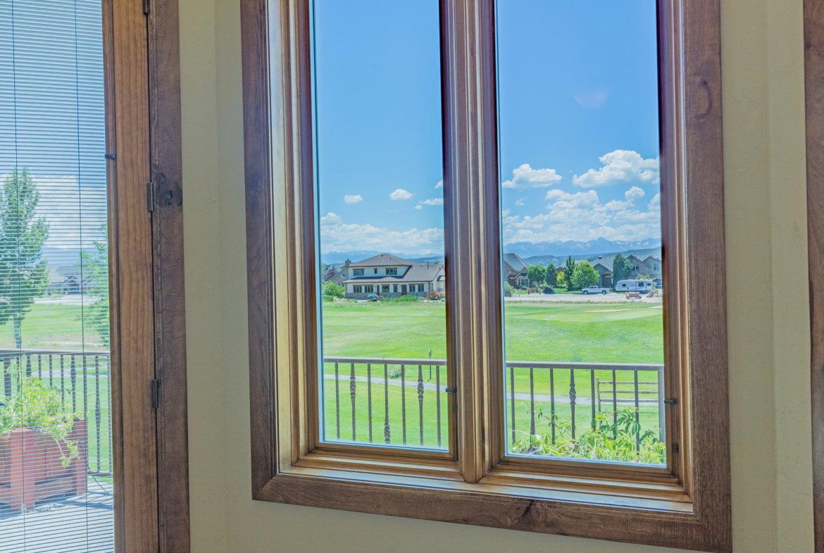 Guest Bedroom Mountain Views - 924 Courthouse Peak Lane Montrose, CO 81403 - Atha Team Golf Luxury Real Estate