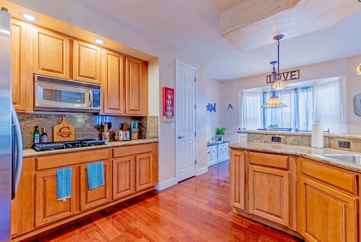 Kitchen with Appliances - 2924 Lost Creek Rd S. Montrose, CO 81401 - Atha Team Real Estate Agents