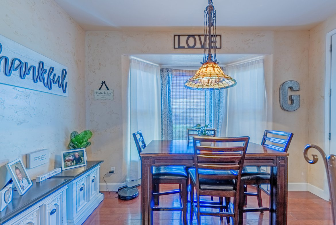 Breakfast Nook - 2924 Lost Creek Rd S. Montrose, CO 81401 - Atha Team Real Estate Agents