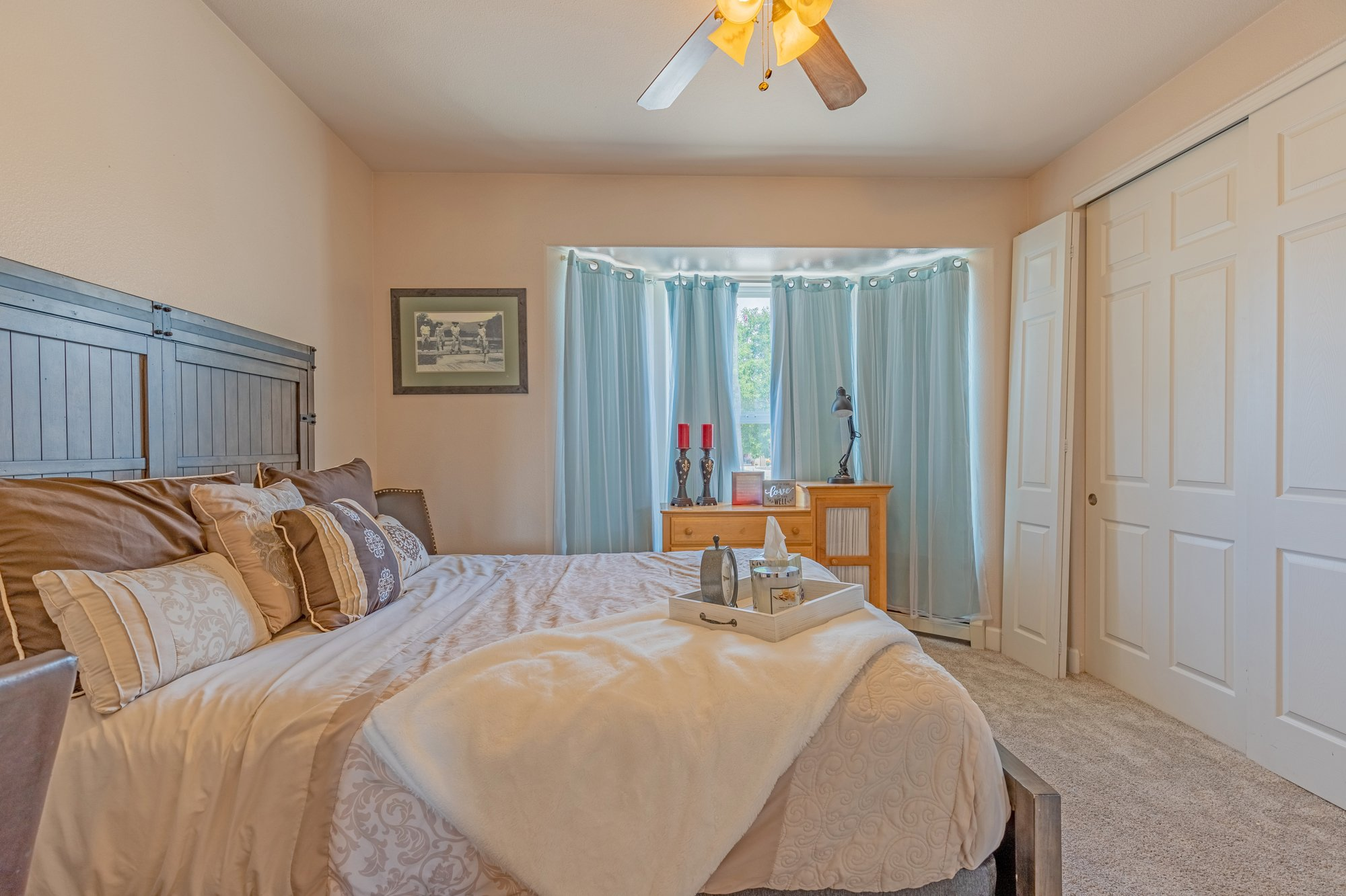 Bedroom with Carpeting - 2924 Lost Creek Rd S. Montrose, CO 81401 - Atha Team Real Estate Agents