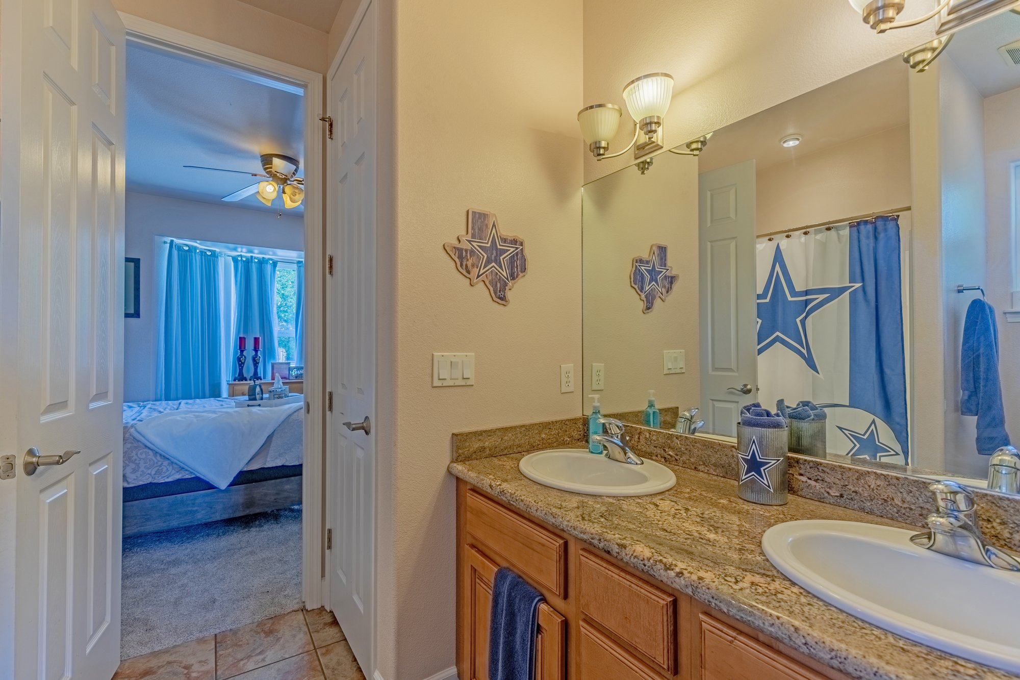 Full Bathroom with Dual Sinks - 2924 Lost Creek Rd S. Montrose, CO 81401 - Atha Team Real Estate Agents