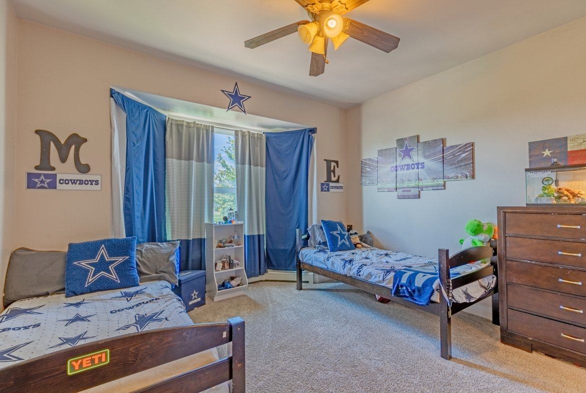 Bedroom with Carpet Flooring - 2924 Lost Creek Rd S. Montrose, CO 81401 - Atha Team Real Estate Agents