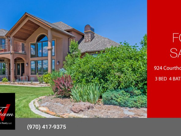 Characteristic Colorado Cobble Creek Golf Home - 924 Courthouse Peak Ln Montrose CO - Atha Team Realty