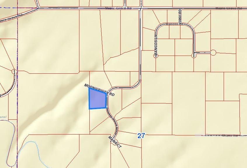 Google Map Location of Property - Lot 3 5950 Rd Montrose, CO 81403 - Atha Team Land Real Estate