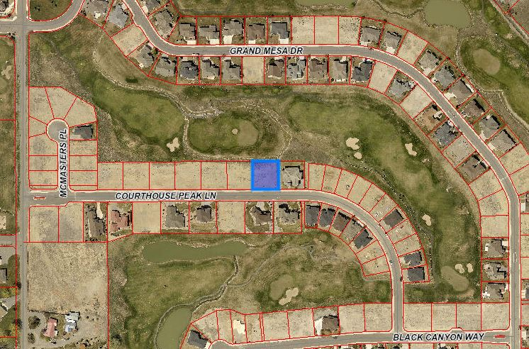 Map Screenshot - 921 Courthouse Peak Ln Montrose, CO 81403 - Atha Team Lot for Sale