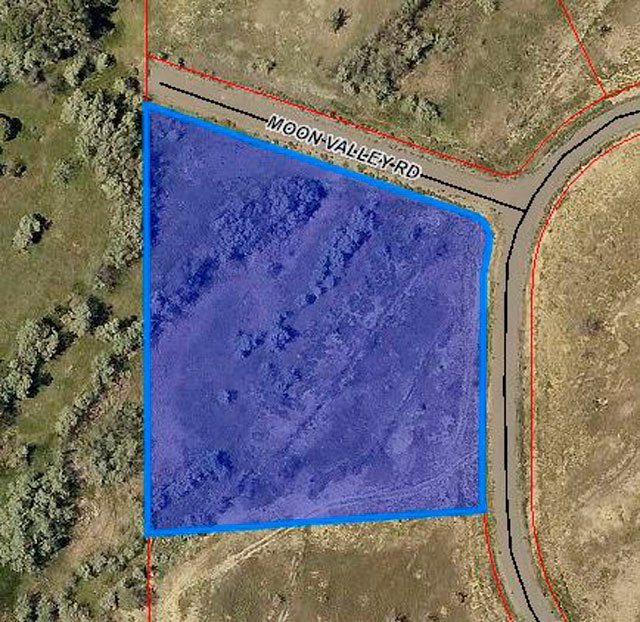 GIS Aerial View of Land - Lot 3 5950 Rd Montrose, CO 81403 - Atha Team Land Real Estate