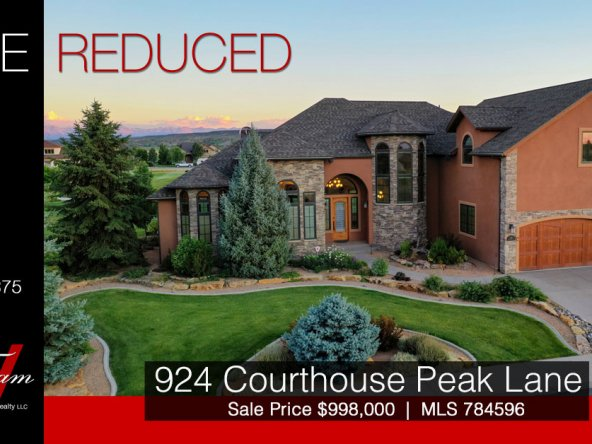 Price Reduced - Cobble Creek Luxury Home for Sale - 924 Courthouse Peak Ln Montrose, CO - Atha Team Real Estate