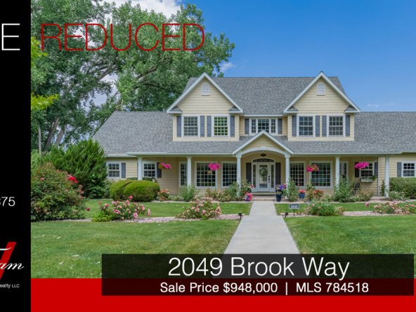 Price Reduced -Traditional and Elegant Estate - 2049 Brook Way Montrose, CO