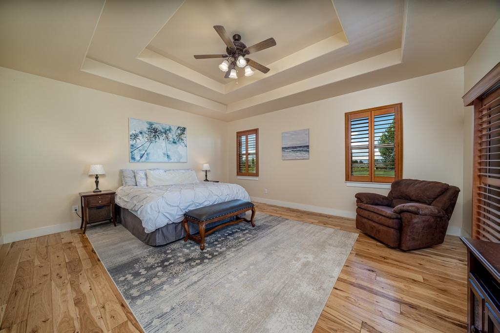 Main Bedroom with Trey Ceiling - 481 Collins Way Montrose, CO 81403 - Atha Team Cobble Creek Real Estate