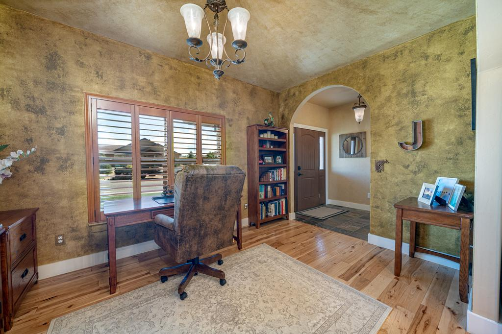 Office by Front Door - 481 Collins Way Montrose, CO 81403 - Atha Team Cobble Creek Real Estate