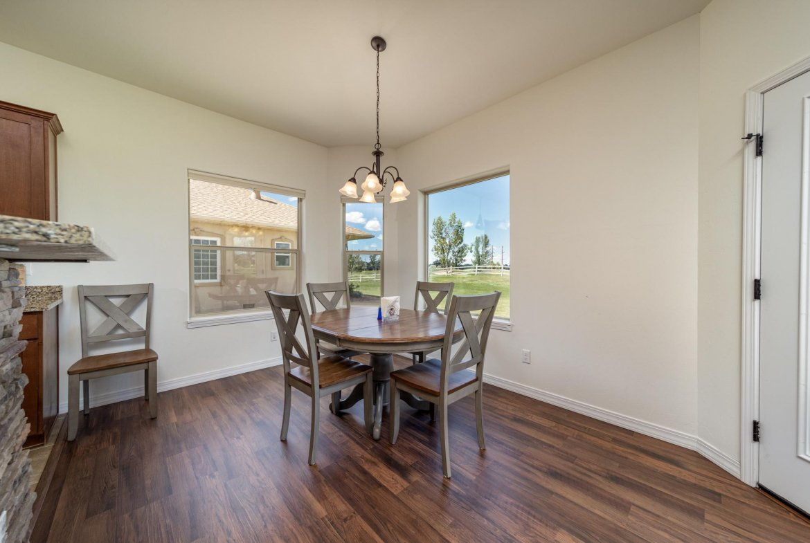 Dining Room - 597 Cobble Dr Montrose, CO - Atha Team MLS Colorado