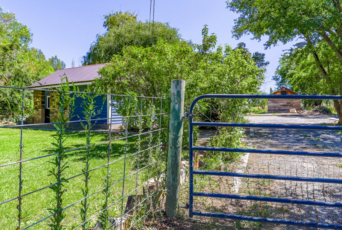 Fenced and Gated Property - 60276 Oak Grove Rd Montrose, CO 81403 - Atha Team Real Estate