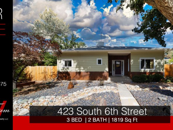 Downtown Dream with Mature Trees - 423 S 6th St Montrose, CO - Atha Team Home Realtor