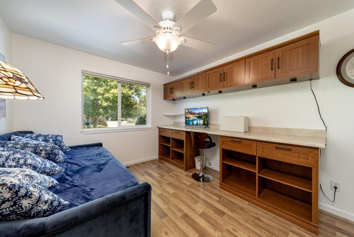 Craft Room with Built-Ins - 15552 6120 Rd Montrose, CO 81403 - Atha Team Country Real Estate