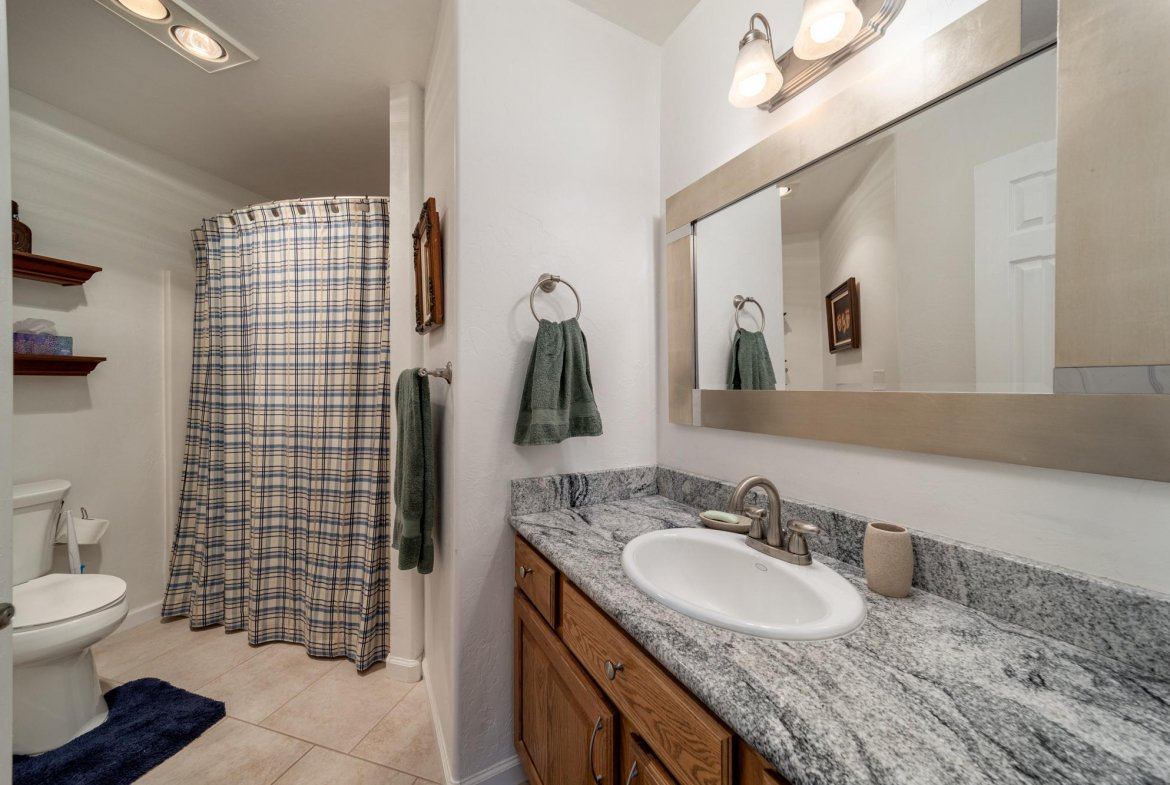 Guest Bathroom - 15552 6120 Rd Montrose, CO 81403 - Atha Team Country Real Estate