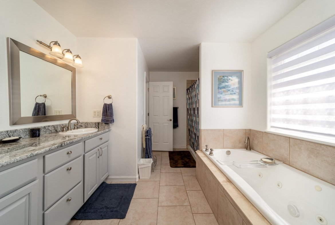 Primary Bathroom - 15552 6120 Rd Montrose, CO 81403 - Atha Team Country Real Estate