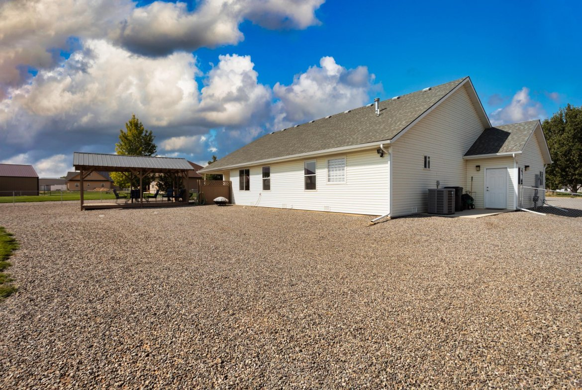 Rear View of House - 15552 6120 Rd Montrose, CO 81403 - Atha Team Country Real Estate