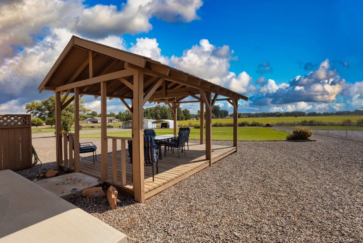 Private Gazebo - 15552 6120 Rd Montrose, CO 81403 - Atha Team Country Real Estate