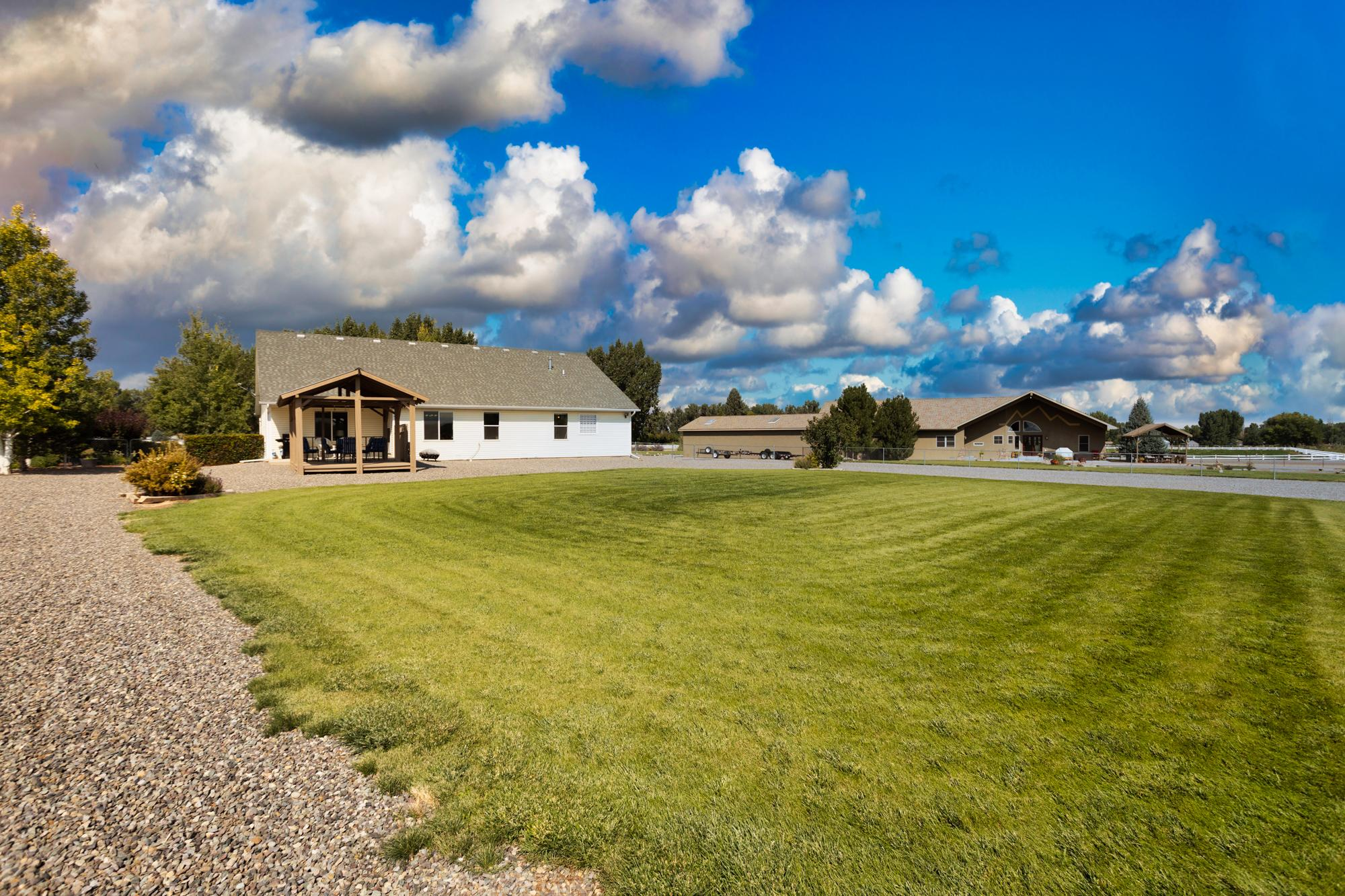 Back Yard - 15552 6120 Rd Montrose, CO 81403 - Atha Team Country Real Estate