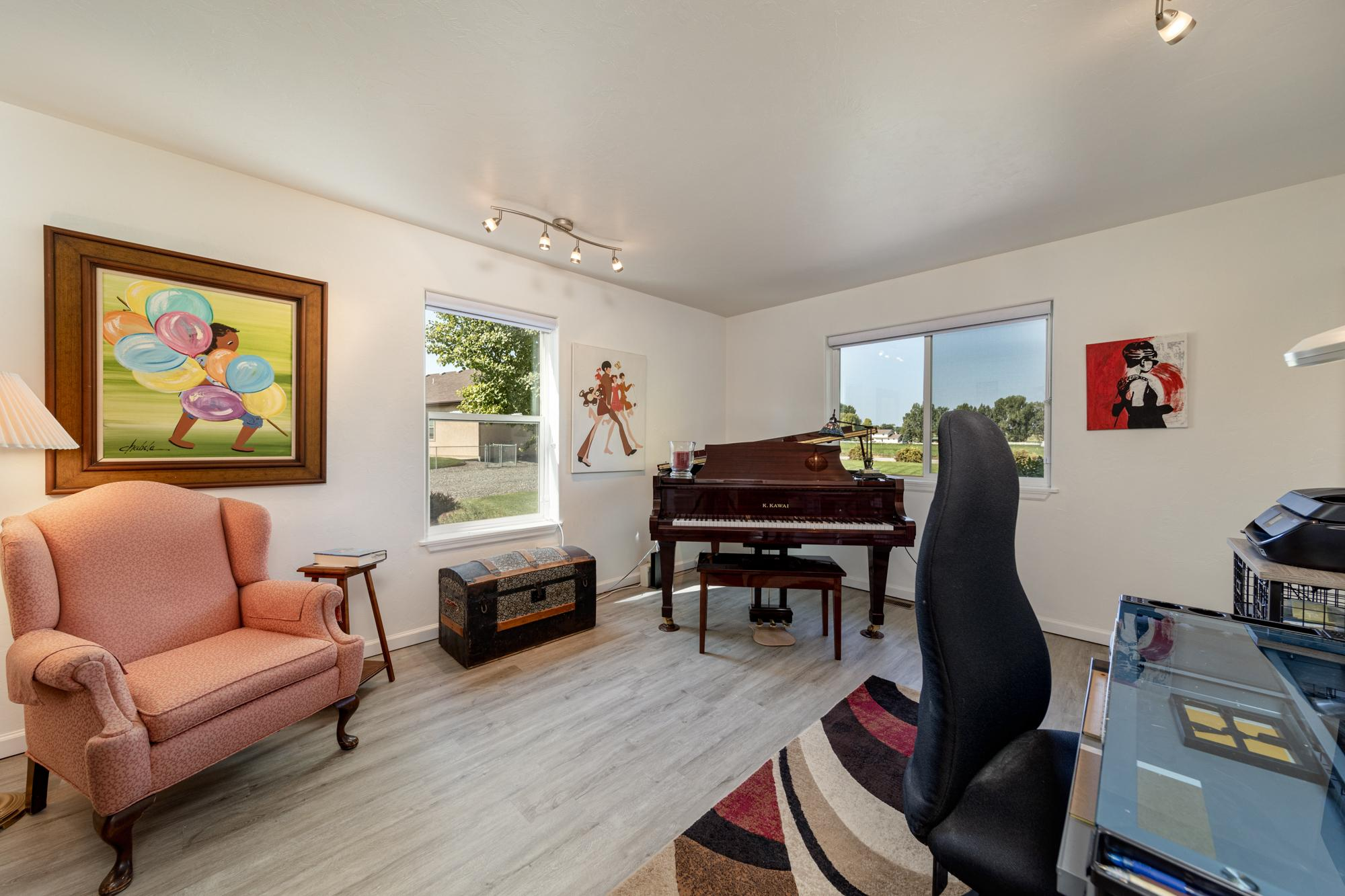 Office with Hardwood Flooring - 15552 6120 Rd Montrose, CO 81403 - Atha Team Country Real Estate