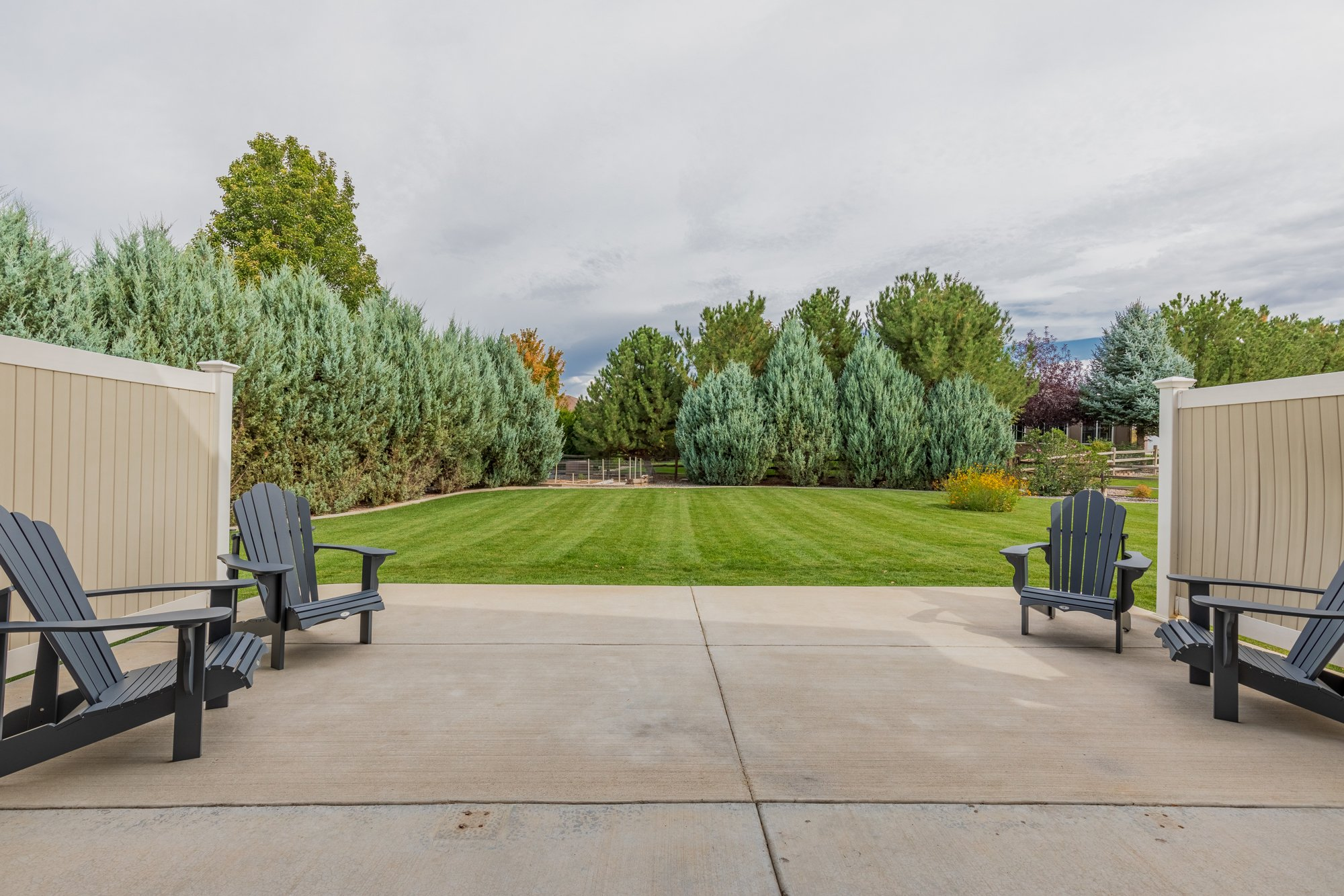 Paved Back Patio - 2941 Ivy Dr Montrose, CO 81401 - Atha Team Real Estate