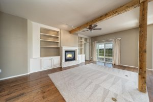 Living Room with Mountain Views- 3731 Buffalo Ln Montrose, CO 81403 - Atha Team Golf Property