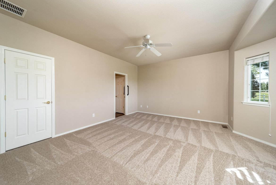 Main Bedroom with Carpet - 3731 Buffalo Ln Montrose, CO 81403 - Atha Team Golf Property