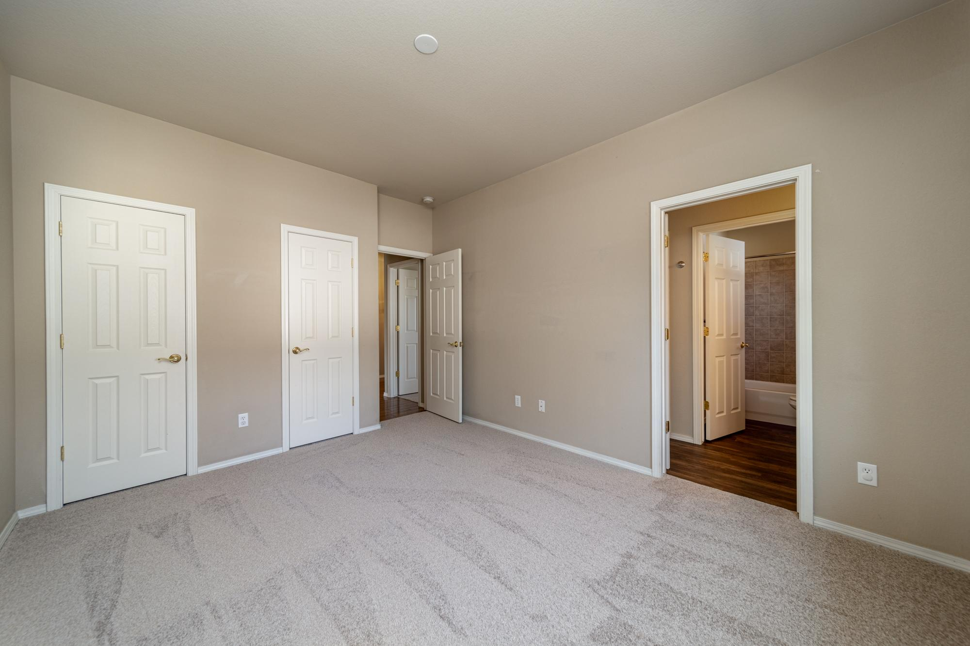Bedroom with Closet - 3731 Buffalo Ln Montrose, CO 81403 - Atha Team Golf Property