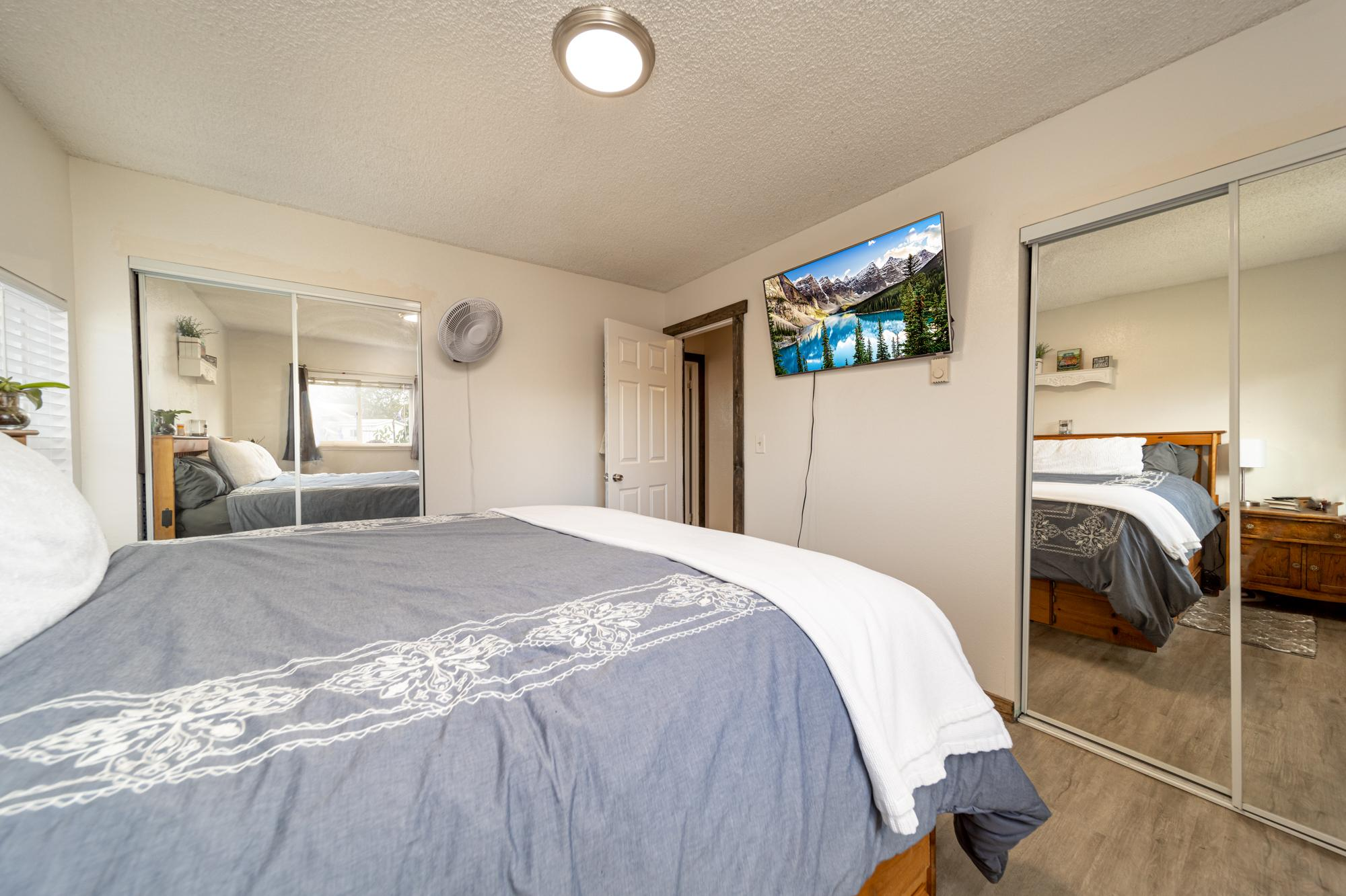 Main Bedroom with 2 Closets - 1117 Centennial Dr Montrose, CO 81401 - Atha Team Real Estate