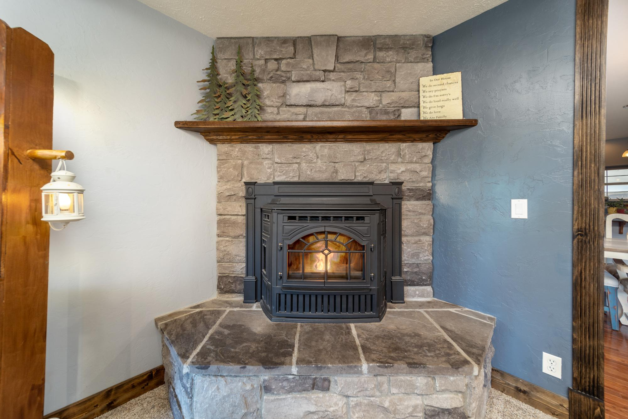 Pellet Stove - 12703 6100 Rd Montrose, CO 81403 - Atha Team Country Real Estate