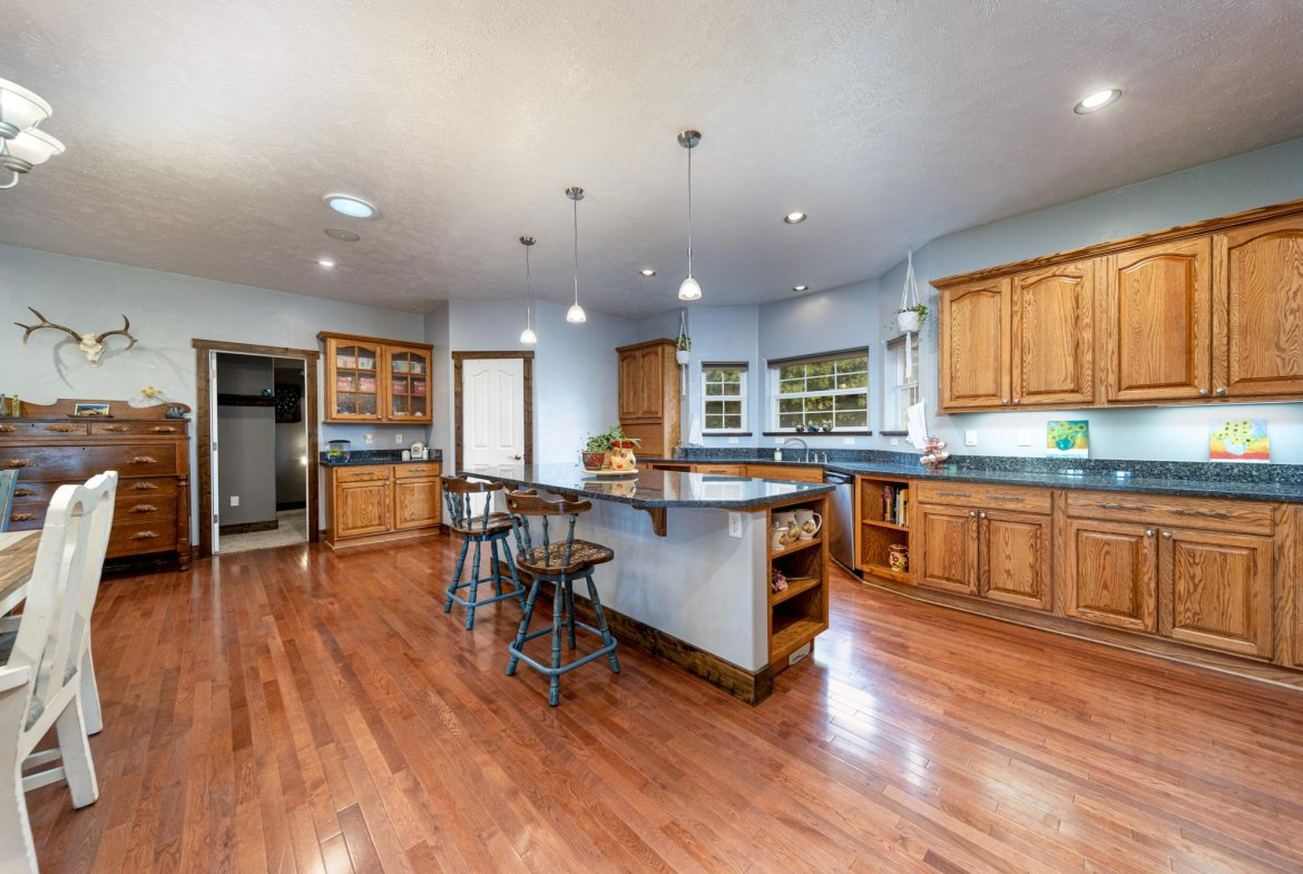 Kitchen with Recessed Lighting - 12703 6100 Rd Montrose, CO 81403 - Atha Team Country Real Estate