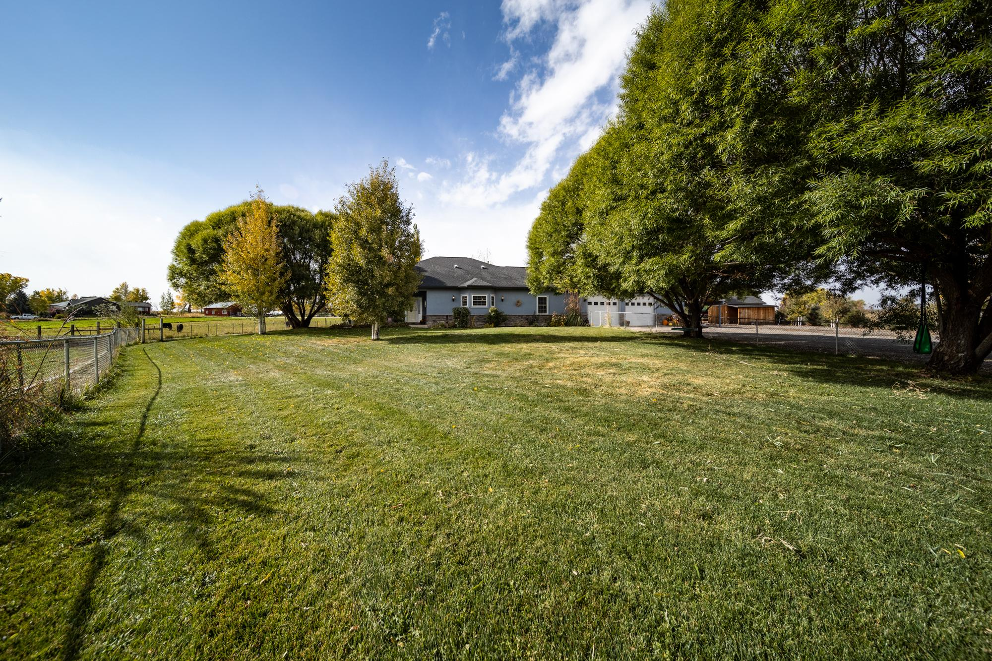 Front Yard with Mature Trees - 12703 6100 Rd Montrose, CO 81403 - Atha Team Country Real Estate